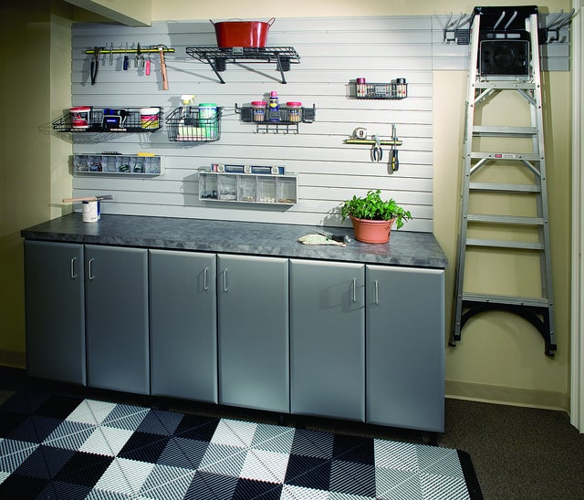More Space Place - Slat Board Wall - Garage Storage Solutions