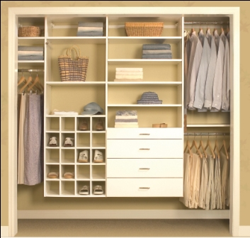 Custom Closet Organizers More E Place Houston
